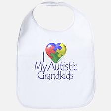 My Autistic Grandkids Bib