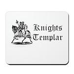 Knights Templar Horsemen Mousepad