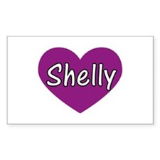 Shelly Rectangle Decal