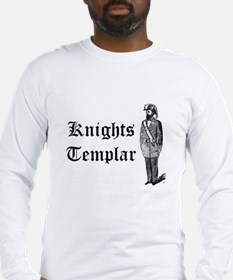 Knights Templar Dress Uniform Long Sleeve T-Shirt