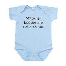 Derby Booties Infant Bodysuit