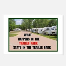 TRAILER PARK Postcards (Package of 8)