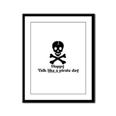 Happy TLAP Day Framed Panel Print