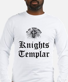 Knights Templar Holy Cross Long Sleeve T-Shirt