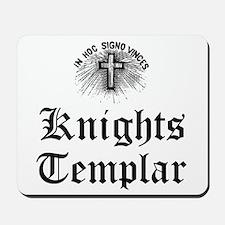 Knights Templar Holy Cross Mousepad