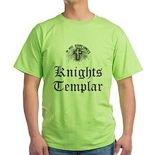 Knights Templar Holy Cross T-Shirt