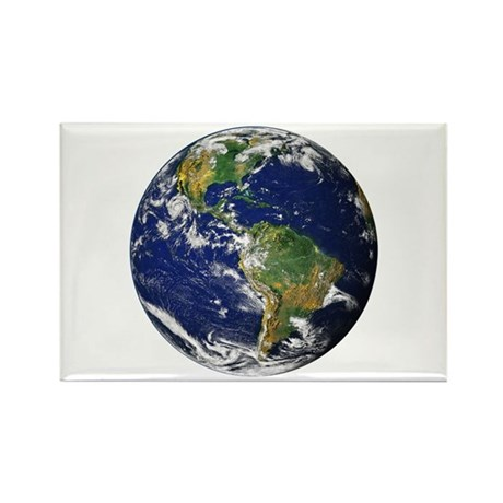 Planet Earth Rectangle Magnet (100 pack)