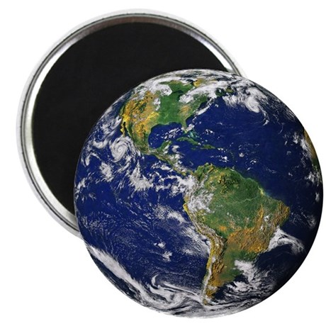"""Planet Earth 2.25"""" Magnet (10 pack)"""