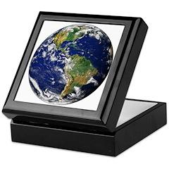 Planet Earth Keepsake Box