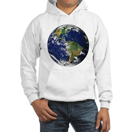 Planet Earth Hooded Sweatshirt