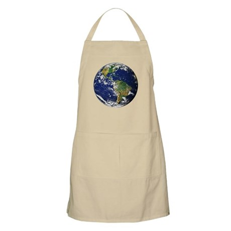 Planet Earth BBQ Apron