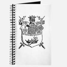 Knights Templar Shield 2 Journal
