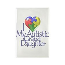 My Autistic GrandDaughter Rectangle Magnet