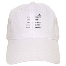 Driver Name Evolution Baseball Cap
