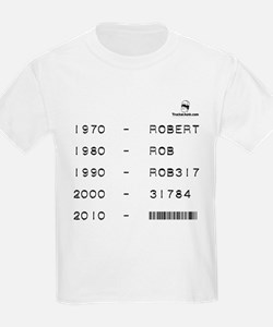 Driver Name Evolution T-Shirt