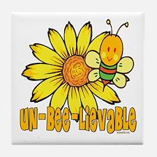 Un-Bee-lievable Tile Coaster