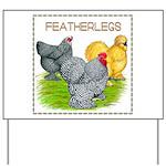 Feather-leg Trio Yard Sign