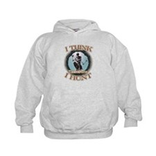 I think therefore I hunt Hoodie