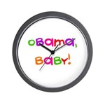 Obama, Baby! Wall Clock