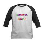 Obama, Baby! Kids Baseball Jersey