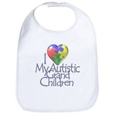 My Autistic Grandchildren Bib