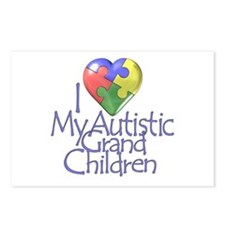 My Autistic Grandchildren Postcards (Package of 8)