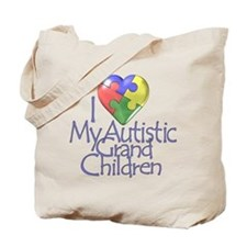 My Autistic Grandchildren Tote Bag