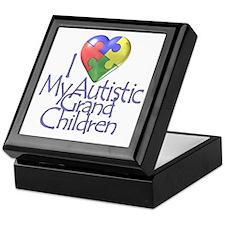My Autistic Grandchildren Keepsake Box