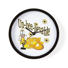 Un-Bee-lievable Wall Clock