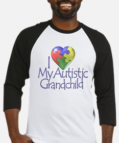 My Autistic Grandchild Baseball Jersey