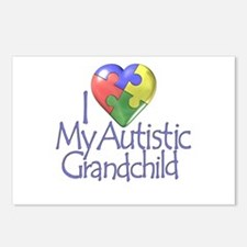 My Autistic Grandchild Postcards (Package of 8)