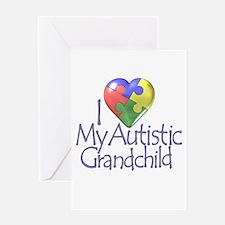 My Autistic Grandchild Greeting Card