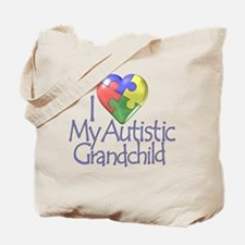 My Autistic Grandchild Tote Bag