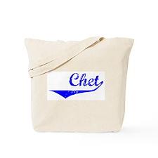 Chet Vintage (Blue) Tote Bag