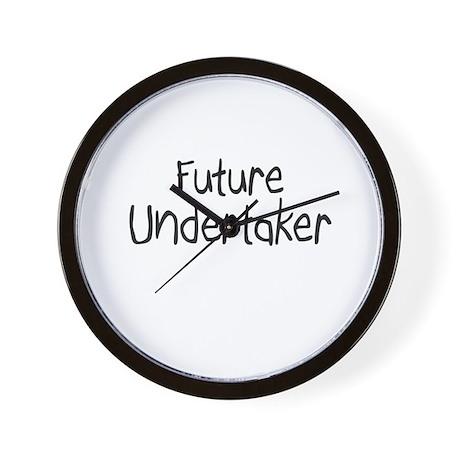 Future Undertaker Wall Clock