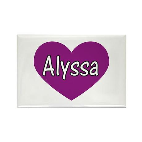 Alyssa Rectangle Magnet (10 pack)