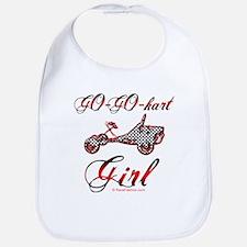 Go-Go-Kart Girl Bib