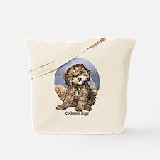 Starlo's Sugar 'n' Spice Cockapoo Hugs Tote Bag