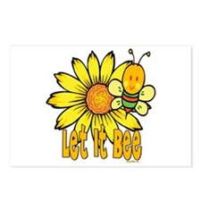 Let It Bee! Postcards (Package of 8)