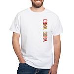 Crna Gora Stamp White T-Shirt
