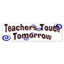 Teacher Bumper Car Sticker