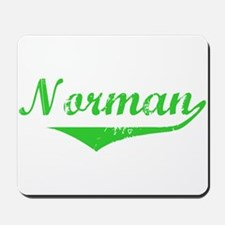 Norman Vintage (Green) Mousepad