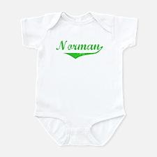 Norman Vintage (Green) Infant Bodysuit