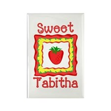Sweet Tabitha Rectangle Magnet