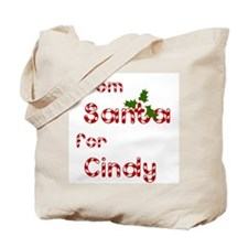From Santa For Cindy Tote Bag