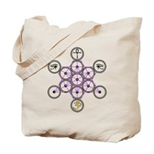 Star Tetrahedron Design Tote Bag