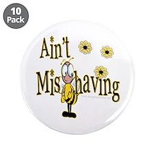 "Ain't Misbehaving 3.5"" Button (10 pack)"