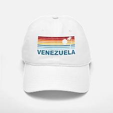 Retro Venezuela Palm Tree Baseball Baseball Cap