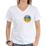 Queen of the South Women's V-Neck T-Shirt