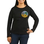 Queen of the South Women's Long Sleeve Dark T-Shir